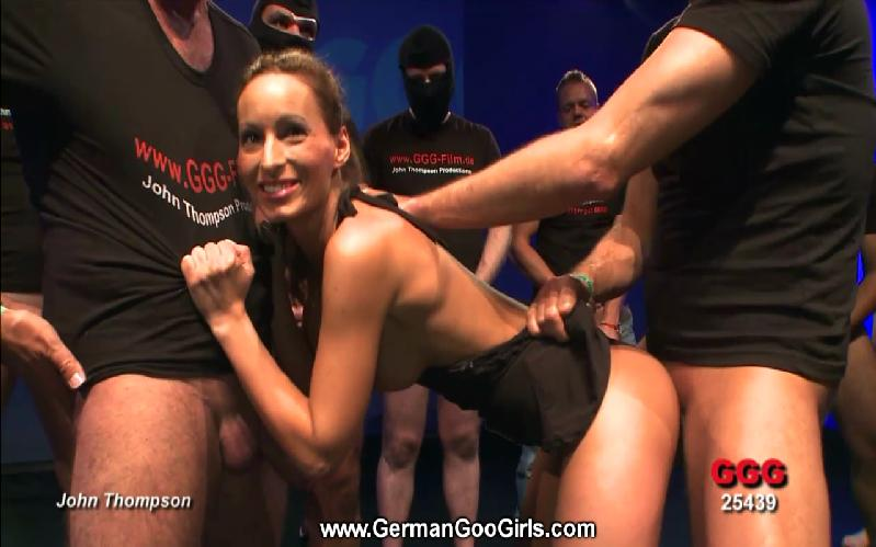 German goo girl elina bukkake orgy 4